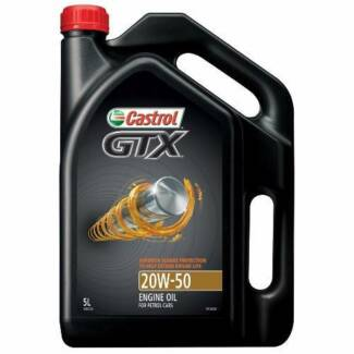 (3x) 5l GTX 20W-50 Engine Oil - ($15 each or $40 for all 3)