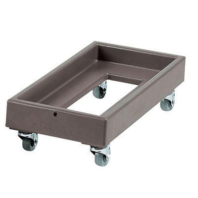 Milk Cooler Crate Dolly Dual Unit 300 Lb. Capacity Black