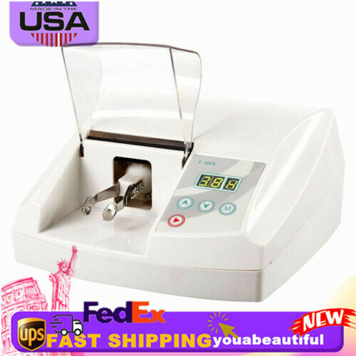 High Fast Speed Dental Lab Digital Amalgamator Amalgam Capsule Blender Electric