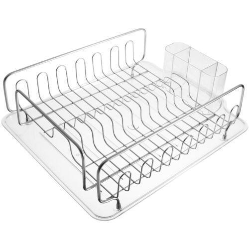 Plastic Dish Drainer Kitchen Storage Amp Organization Ebay