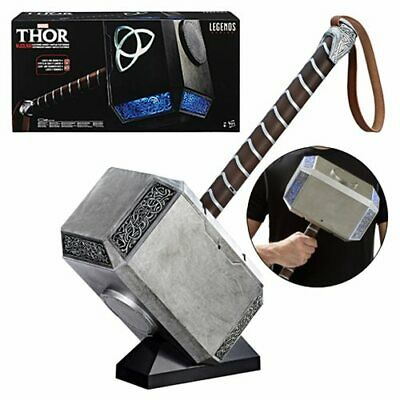 Marvel Legends Thor Mjolnir Hammer Electronic Prop Replica Authentic Cosplay NEW