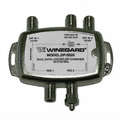 Winegard DP 3020 Diplexer Dual Satellite/ TV Antenna 40-2050