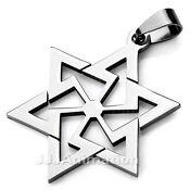 Mens Star of David Necklace
