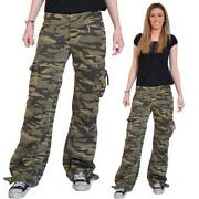 Womens Camouflage Trousers