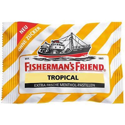 Fishermans Friend Pastillen (FISHERMANS FRIEND Tropical ohne Zucker Pastillen 25 St)