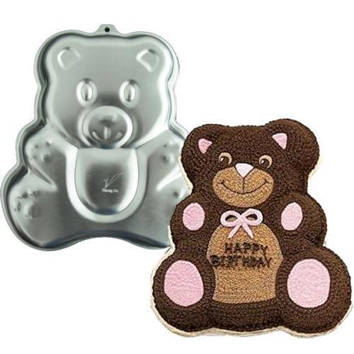 3d Teddy Bear Cake Pan Ebay