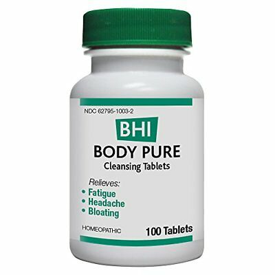 BHI Body Pure Cleansing Tablets 100 Count Body Pure 100 Tablets