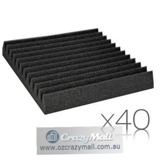 40 pcs Studio Wedge Acoustic Foam 30 x 30cm