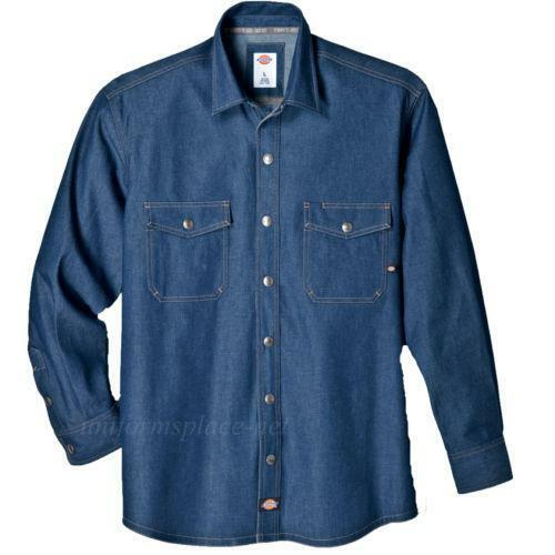 Mens Chambray Work Shirt