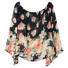 Chiffon Off-Shoulder Sleeve Tops & Blouses for Women