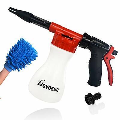 Foam Cannon Snow Gun Jet Washer Garden Hose Adjustable Car Wash Shampoo Washer