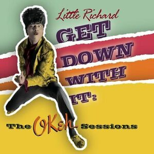 "LITTLE RICHARD ""GET DOWN WITH IT"" BRAND NEW FACTORY WRAPPED CD"