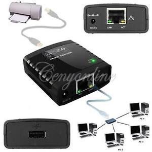 New-Portable-1-Port-USB-2-0-LRP-Print-Printer-Server-Ethernet-Share-a-Networking