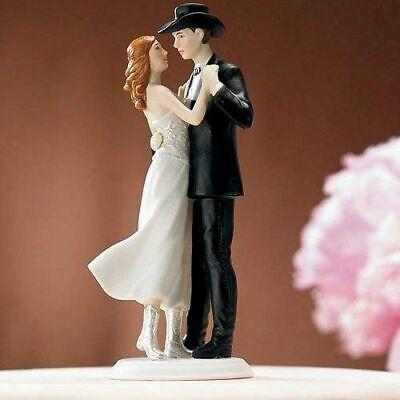 Wedding Cake Tops (Figurine Western Wedding Cake)