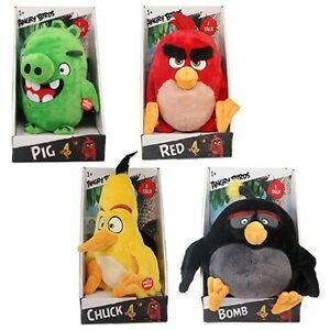 Angry Birds talking plush toys, NEW in Box