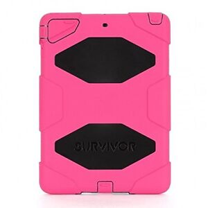 Like New Open Box Griffin Survivor iPad Air Case - Pink & Black
