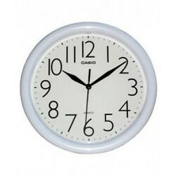 Casio White Dial Wall Clock IQ-01-7R Analog - Large Numbers