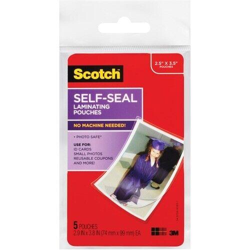 Scotch Self-sealing Photo Laminating Sheets
