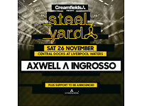 Steel Yard Tickets In Hand 26/11/16