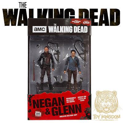 Mcfarlane Walking Dead Tv 5  Negan   Glenn Deluxe Box Set   2 Pack   In Stock