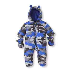 Children's Place Camo Snowsuit