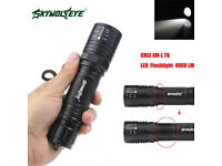 Sky Wolf Eye T69 4000LM LED Zoomable High Power Torch