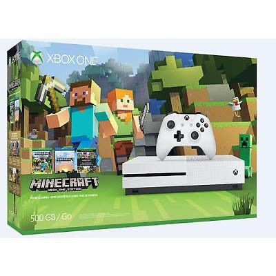 Xbox One S Minecraft Favorites 500GB Bundle