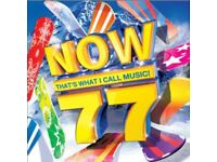 Now 75 - Thats What i Call Music CD - VGC