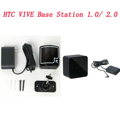HTC VIVE Base Station 1.0 2.0 with Adapter for Virtual reali