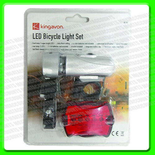 A Set of Front & Rear Bike Lights LED [BL103] Bicycle Lamps                   2P