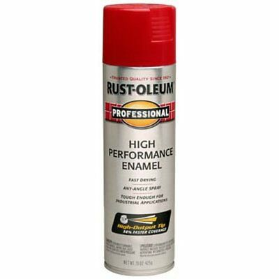 Rust-Oleum 7564 15Oz Federal Safety Red Spray  Safety Red Spray