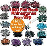 Flat Back Beads