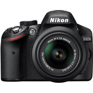 Nikon-D3200-Black-Digital-SLR-Camera-w-18-55mm-Lens