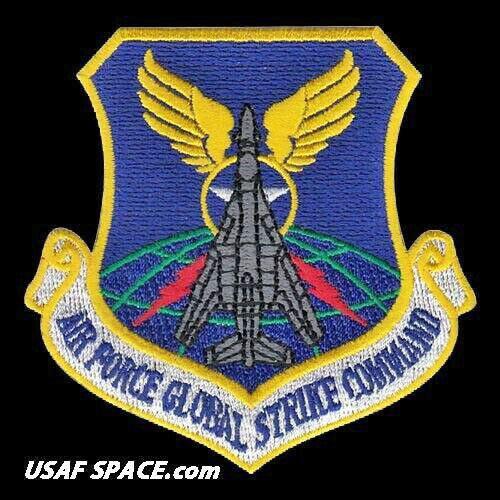 AIR FORCE -GLOBAL STRIKE COMMAND-B-1B LANCER - AFGSC B-1B - ORIGINAL USAF PATCH