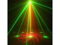 Laser Lighting Bright Red Green Patterns With Controls DJ Party Disco Stage Light Spa Hot tub pool