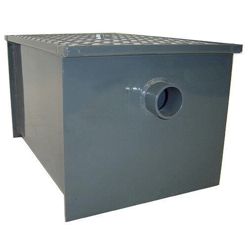Central Restaurant GT-20 Standard Grease Interceptor - 20 lb. Capacity, 10 GPM