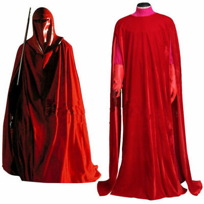 Star Wars Imperial Emperor's Red Royal Guard Cosplay Costume Uniform Full set AA](Star Wars Royal Guard Costume)