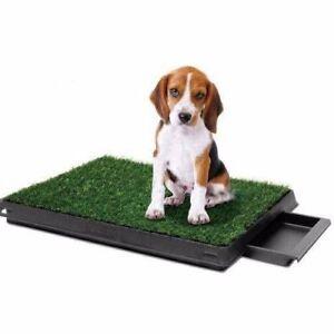 Indoor Dog Pet Potty Training Portable Toilet Large Loo Pad Tray
