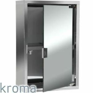 stainless steel mirror cabinet bathroom stainless steel kroma bathroom mirror door wall cabinet 24268