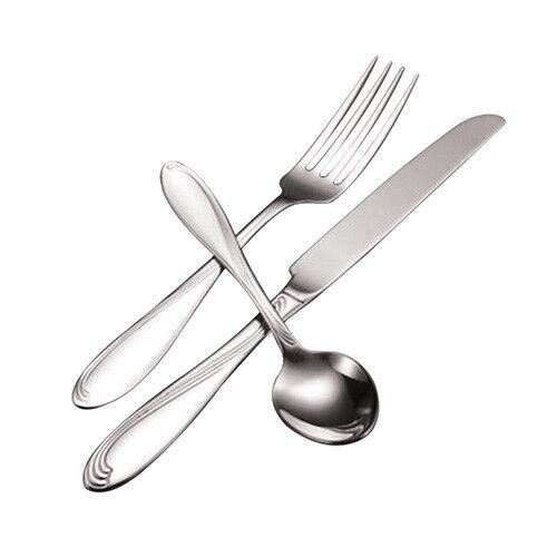 Scroll Flatware Oval Soup Spoon