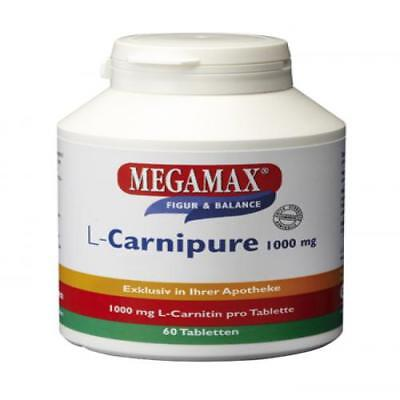 L-CARNIPURE 1000 mg Kautabletten 60 St PZN 1444880 - 1000 Mg Kautabletten