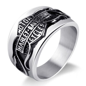 Harley Davidson stainless steel ring size 12 100% NEW