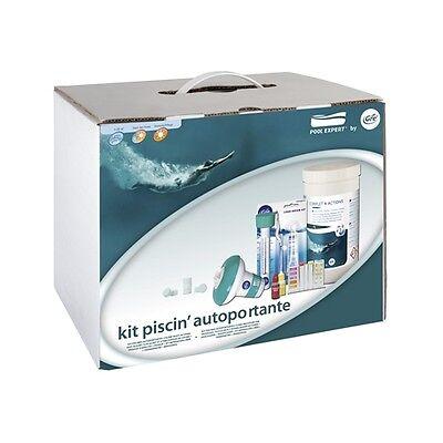Kit chimico GRE con cloro ed accessori per piscine fino a 15 metri cubi