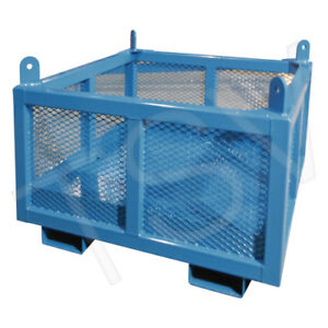 MATERIAL HANDLING BASKET. CRANE LIFT CAGE. CONSTRUCTION LIFT BIN