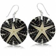 Sterling Silver Disc Earrings