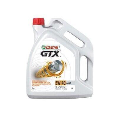 1 Aceite de motor CASTROL 15218F GTX 5W-40 A3/B4 adecuado para