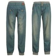 Womens Cuffed Jeans