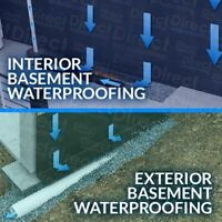 Have a leaking basement? We are here to help.