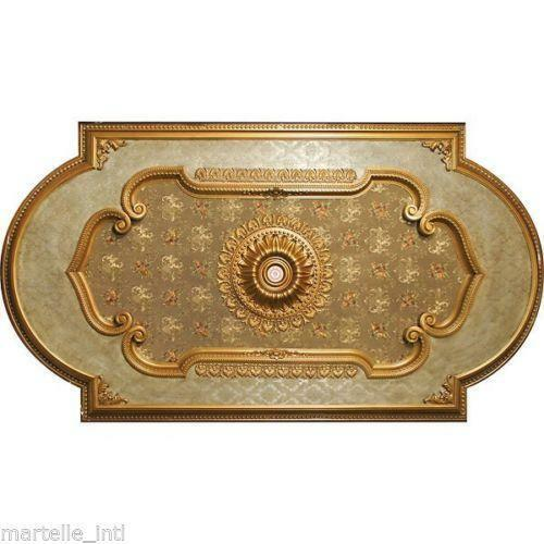 Large Ceiling Medallion Ebay