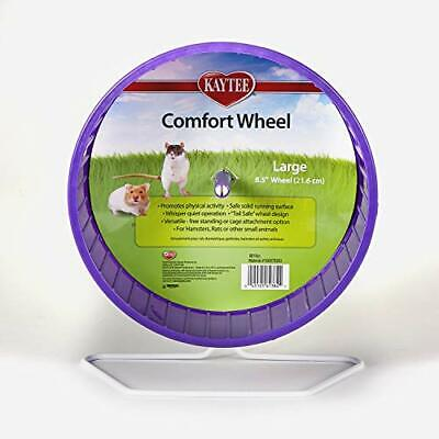 Large Quiet Exercise Wheel With Heavy Duty Stand For Hamster Rat Gerbil Hedgehog